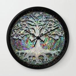 Internal Faith -  Tree of Life Wall Clock