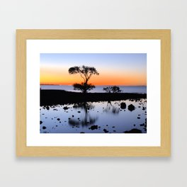 Cleveland Point Sunset Framed Art Print