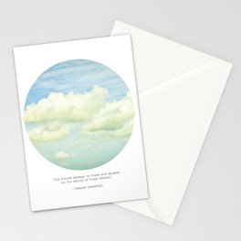 The beauty of the dreams Stationery Cards