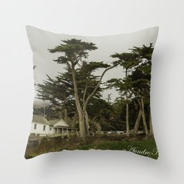 Montana Bech Throw Pillow