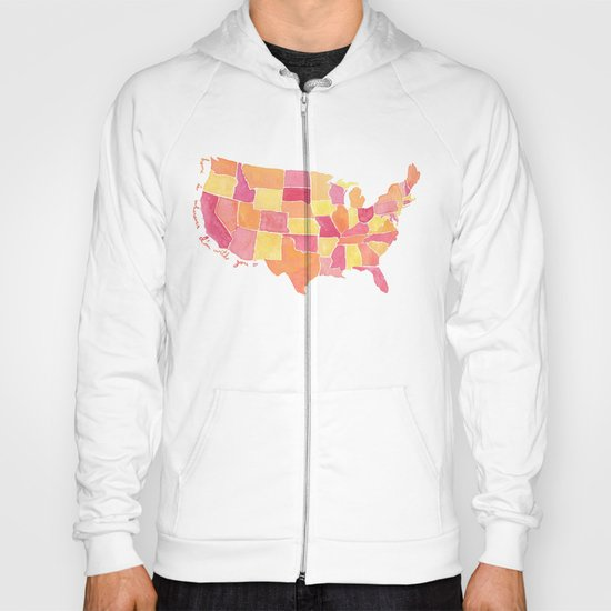 Home is wherever I'm with you Hoody