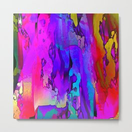 Abstracted Moods Metal Print