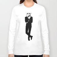 trooper Long Sleeve T-shirts featuring Trooper... Storm Trooper by Derek Donovan