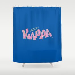 for my kappa girls Shower Curtain
