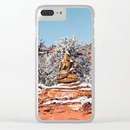 Buddah Ariozna Clear iPhone Case