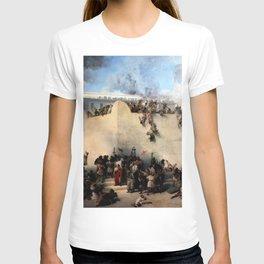 The Destruction Of The Jewish Temple - Francesco Hayez T-shirt