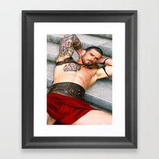 Stuart Reardon /Spartacus Framed Art Print