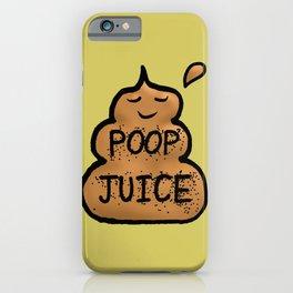 Poop Juice iPhone Case