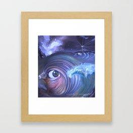 The Gaze of Aries Framed Art Print