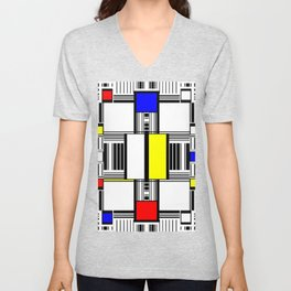 Rachna Bauhaus 1 Unisex V-Neck