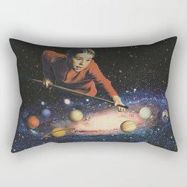Space Pool Rectangular Pillow