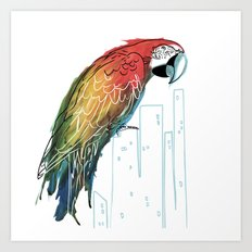 Polly in the City Art Print