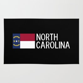 North Carolina: North Carolinian Flag Rug