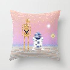The Droids Throw Pillow