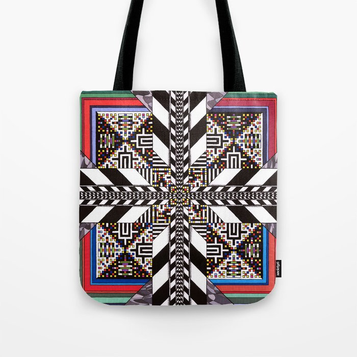 Mind Circuit Tote Bag