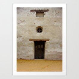 Capistrano Mission Doorway Art Print