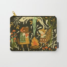 Animal Chants & Forest Whispers Carry-All Pouch