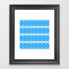 providan (blue) Framed Art Print