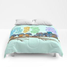 Spring Birds Comforters