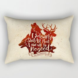 I solemnly swear Rectangular Pillow