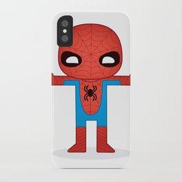 SPIDER MAN ROBOTIC iPhone Case