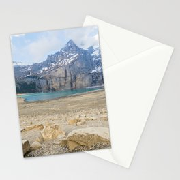Oeschinen Lake Bernese Oberland Switzerland Stationery Cards