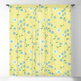 Knapweeds, loggerheads, cornflowers Blackout Curtain