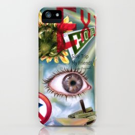 Safe trip, my friend! iPhone Case