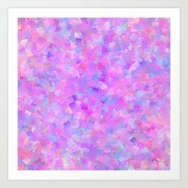 Funfetti (Preppy Abstract Pattern) Art Print