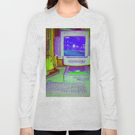 Old Computer Long Sleeve T-shirt