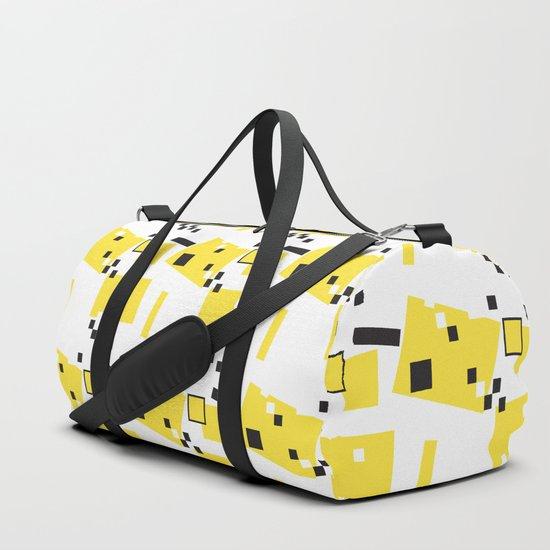 Abstract Yellow Taxi  by bridgetsbeachhouse