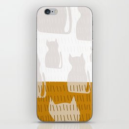 Coit Cat Pattern 4 iPhone Skin