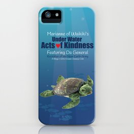 Under Water Acts of Kindness: Da General iPhone Case