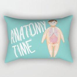 Anatomy Time Rectangular Pillow
