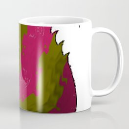Abstract squirrel on white Coffee Mug