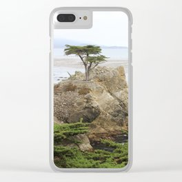Lone Cypress  Of Monterey Clear iPhone Case