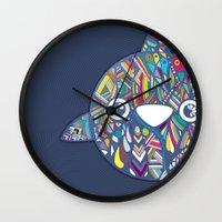 dolphin Wall Clocks featuring Dolphin by Narek Gyulumyan