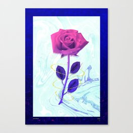 Arien Rose Canvas Print