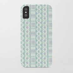 Ethnic striped pattern. iPhone X Slim Case