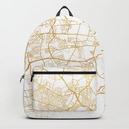 COPENHAGEN DENMARK CITY STREET MAP ART Backpack