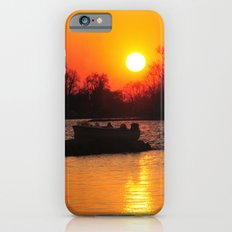 Silhouettes and Fire iPhone 6s Slim Case