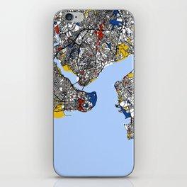 Istanbul mondrian iPhone Skin