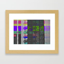Irrecoverable Fragments - #1 Framed Art Print