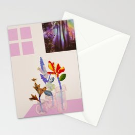 Blooms of Envy Elation and Lust Stationery Cards