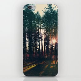 The Trees and The Sun iPhone Skin
