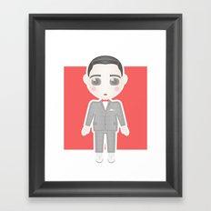 Pee-Wee Herman Framed Art Print