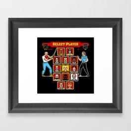 8 Bit Pulp Framed Art Print