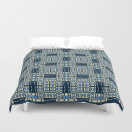 Deep Wata - Gingham Duvet Cover