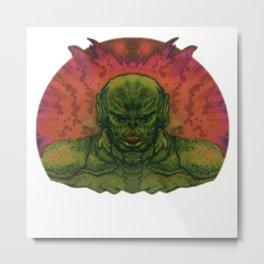 Space Terror Metal Print