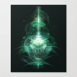 Digital Botanics Canvas Print